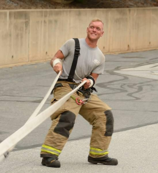 Fire Lieutenant: Bas de Vries