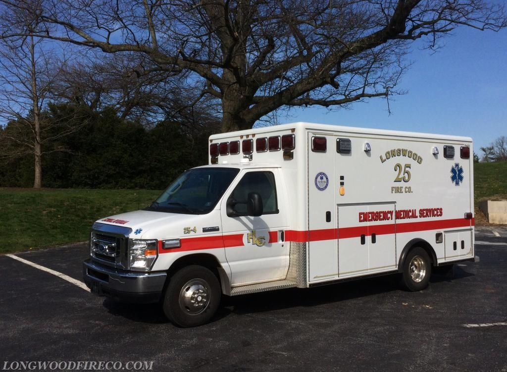 AMB/MIC254. This is the addition to our fleet to better serve our community!