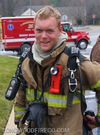 Fire Lieutenant Bas de Vries